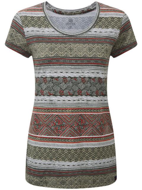 Sherpa Kira - T-shirt manches courtes Femme - olive